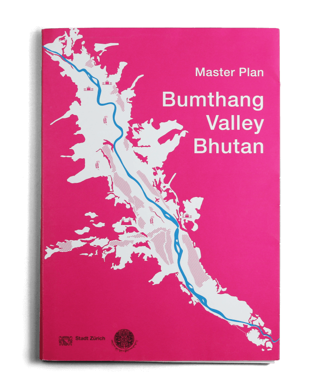 Master Plan Bumthang Valley Bhutan